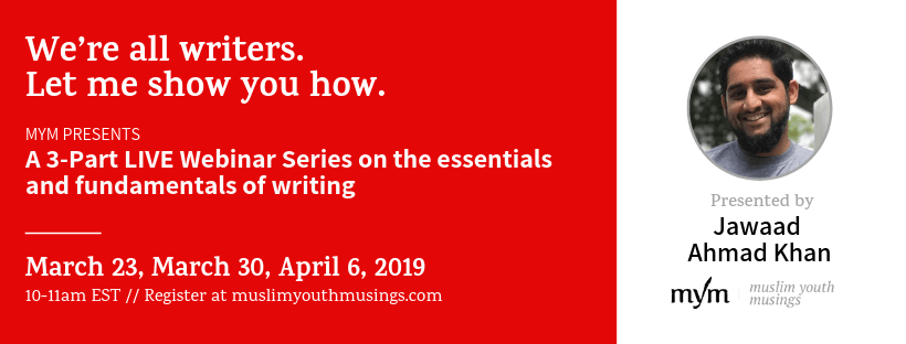 Sign up for MYM Writing Webinars